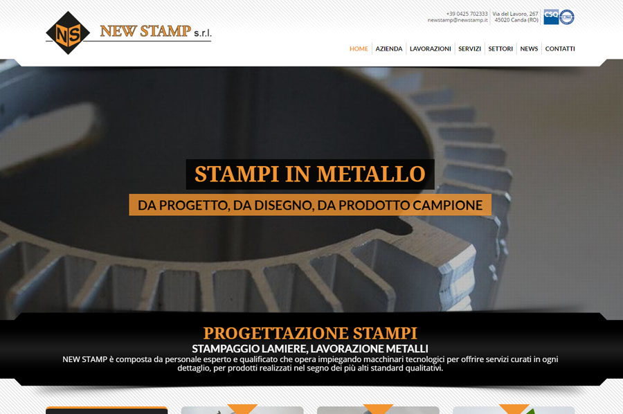 Benvenuto nel nuovo sito web di new stamp new stamp for Sito web di progettazione edilizia